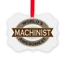 Awesome Machinist Ornament