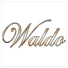 Gold Waldo Poster
