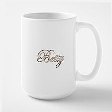 Gold Betty Mugs