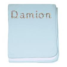 Damion Seashells baby blanket