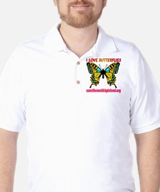 I Love Butterflies T-Shirt