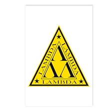 Lambda Lambda Lambda Postcards (Package of 8)