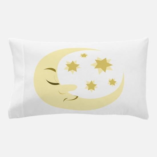 Night Moon Pillow Case