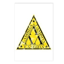 Worn Lambda Lambda Lambda Postcards (Package of 8)