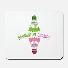 Badminton Champs Mousepad