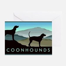Blue Hills Coonhounds Greeting Card
