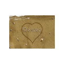 Dexter Beach Love 5'x7'Area Rug