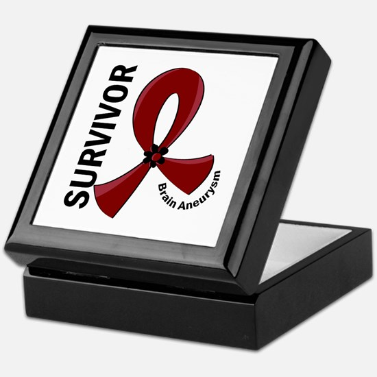 Brain Aneurysm Survivor 12 Keepsake Box