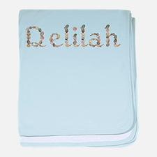 Delilah Seashells baby blanket