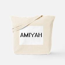 Amiyah Digital Name Tote Bag