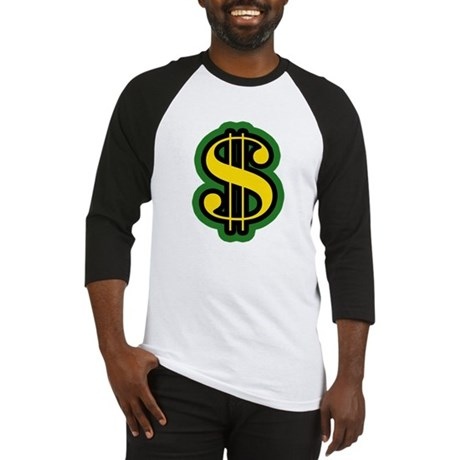 Dollar Sign Baseball Jersey