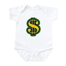 Dollar Sign Infant Bodysuit