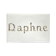 Daphne Seashells Rectangle Magnet