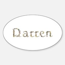 Darren Seashells Oval Decal