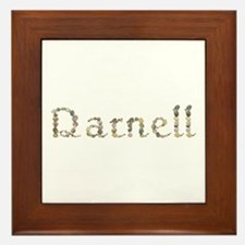 Darnell Seashells Framed Tile