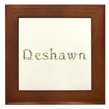 Deshawn Seashells Framed Tile