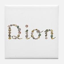 Dion Seashells Tile Coaster