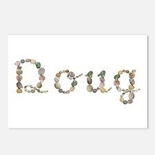 Doug Seashells Postcards 8 Pack