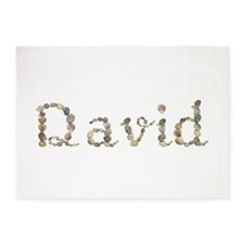 David Seashells 5'x7' Area Rug