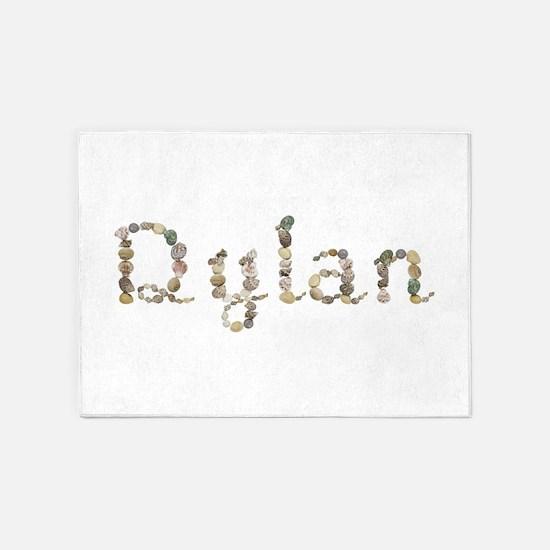 Dylan Seashells 5'x7' Area Rug