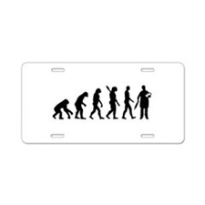 Evolution Baker Aluminum License Plate