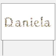 Daniela Seashells Yard Sign
