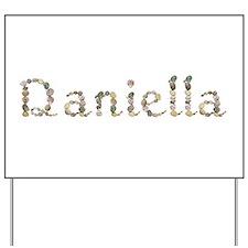 Daniella Seashells Yard Sign