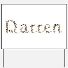 Darren Seashells Yard Sign