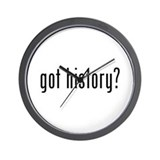 History teacher Wall Clocks