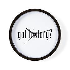 got history? Wall Clock