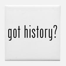 got history? Tile Coaster
