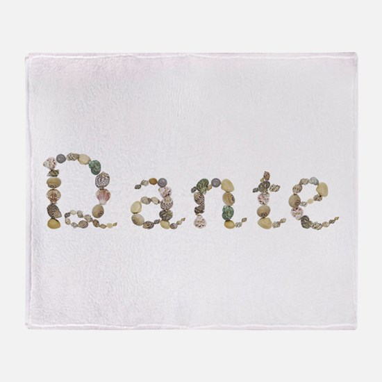 Dante Seashells Throw Blanket