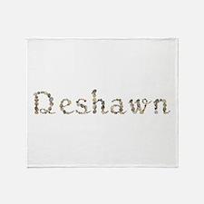 Deshawn Seashells Throw Blanket