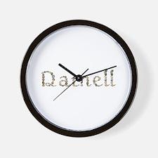 Darnell Seashells Wall Clock