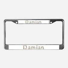 Damian Seashells License Plate Frame