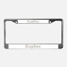 Daphne Seashells License Plate Frame