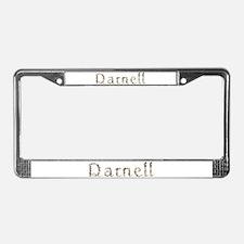 Darnell Seashells License Plate Frame