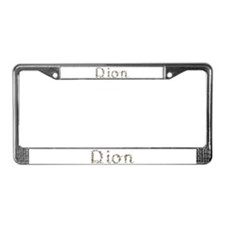 Dion Seashells License Plate Frame