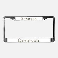 Donovan Seashells License Plate Frame
