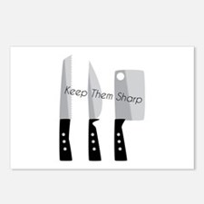 Keep Them Sharp Postcards (Package of 8)