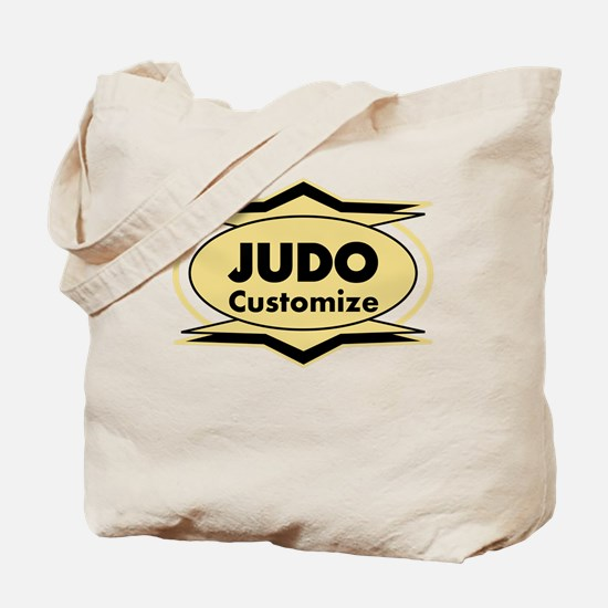 Judo Star stylized Tote Bag