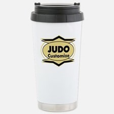 Judo Star stylized Stainless Steel Travel Mug