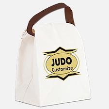 Judo Star stylized Canvas Lunch Bag