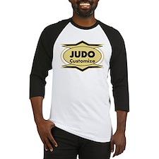 Judo Star stylized Baseball Jersey