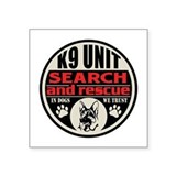K9 search and rescue Square