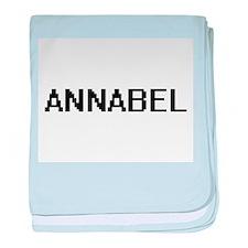 Annabel Digital Name baby blanket