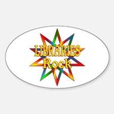 Libraries Rock Decal