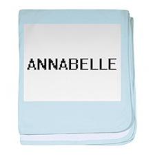 Annabelle Digital Name baby blanket