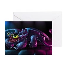 Cute Night Fury Greeting Card