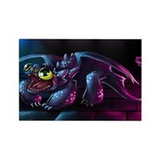 Cute Night Fury Rectangle Magnet